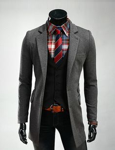 Classy Tailored Longline Blazer For Men Fashion