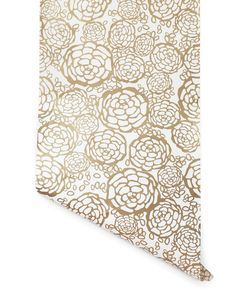 I want to put this in my wash room behind my washer and dryer to create an accent wall.  Petal Pusher (Gold) – Hygge & West