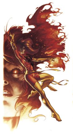 Phoenix commission color by *simonebianchi on deviantART