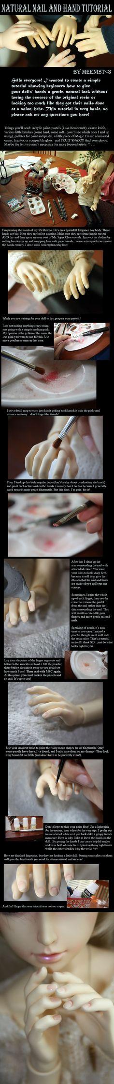 natural nails tutorial