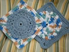 Budding Into Spring Square #crochet #pattern