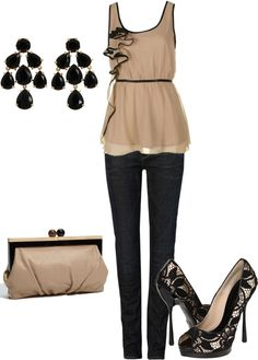 """date night"" by bradierenee on Polyvore"