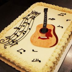 Taylor Guitar Birthday Cake Made By 3 Women And An Oven In Overland Park KS