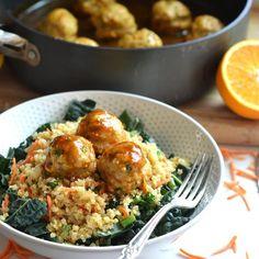 Orange Chicken Meatballs | Little Bits of... | Bloglovin'
