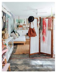 ☮ American Hippie Bohéme Boho Lifestyle ☮ Studio Apartment