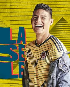"""James Rodriguez Fan Page™ on Instagram: """"The new uniform of the Colombian team has given much to talk about.¿ Do you like the new uniform?✍ Follow @jamesdrodriguezfan👏 . . .✅Cuenta…"""" James Rodriguez, Messi And Ronaldo, Football Love, Football Players, My Boys, Fan, Handsome Man, Arsenal, Sweet Dreams"""