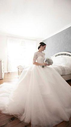 Beautiful wedding ball gown ❤❤❤