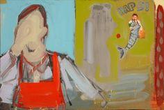 "Saatchi Online Artist Janusz Gałuszka; Mixed Media, ""Haps"" #art"
