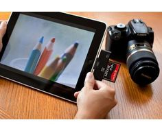 If I ever get an iPad, I must have that attatchment!  Must-Have Camera Accessories