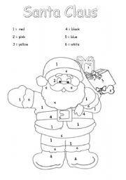 English Worksheet Santa Claus Christmas Worksheets Vocabulary Worksheets Worksheets