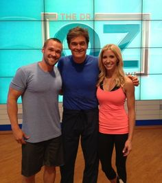 Dr. Oz will be joined by Chris & Heidi Powell on 10/31/2012. Hoping plenty of talk about Vemma Bod•e and Powell Perfect Shake! Mark your calendars now!!! www.nutritionalenergy.vemma.com