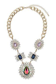 Gemstone necklace - Topshop