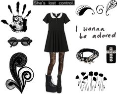 """""""I Wanna Be Adored"""" by carissa-chaos ❤ liked on Polyvore"""