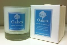 """Oakes Candles """"Seaside & Suncream"""" 220g Candle To Shop Oakes Candles follow the website link!"""