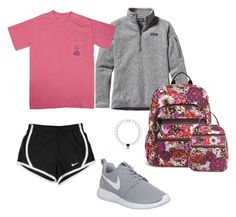 """Jackelin"" by southern-prep-gals ❤ liked on Polyvore featuring Patagonia, NIKE and Vera Bradley"