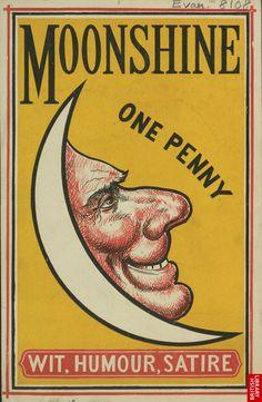 Advert for Moonshine, comic