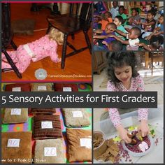 lots of posts out there about preschooler sensory activities, but less for older kids