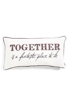 Levtex 'Together' Accent Pillow available at #Nordstrom