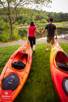 Kayaking engagement photography, canoe creek engagement photography, Creative colorful Central PA Wedding Engagement Photographers