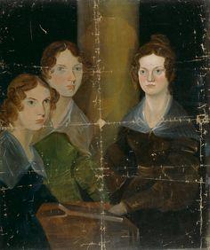 The Brontë Sisters (Anne Brontë; Emily Brontë; Charlotte Brontë), by Patrick Branwell Brontë, 1834