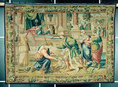 4. Die Werbung des jungen Tobias bei Raguël um Sara Medieval Manuscript, Tobias, Renaissance, Painting, Art, Boys, Advertising, Art Background, Painting Art
