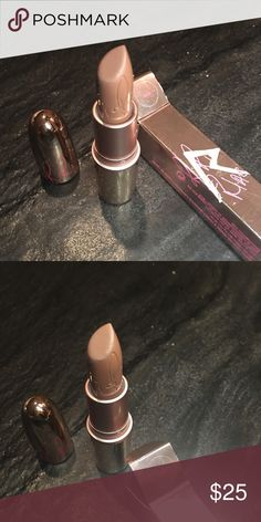 MAC Rihanna collection 'Nude' Lipstick Swatched. Makeup Lipstick