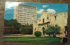 THE ALAMO, SAN ANTONIO TEXAS old postcard