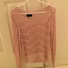 Blush sweater Blush sweater Tops Sweatshirts & Hoodies