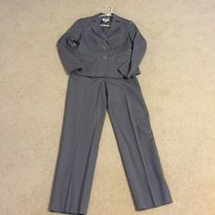 Talbots Jackets & Blazers - NWOT gray Talbots suit.