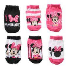 Featuring Minnie Mouse and Daisy Duck graphics, these girls' socks look adorable on her. Kids Outfits Girls, Little Girl Outfits, Cute Outfits For Kids, Toddler Outfits, Baby Boy Outfits, Cute Kids, Disney Baby Clothes, Cute Baby Clothes, Baby Disney
