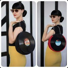 This is a must in my life. Record purse