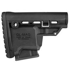 Mako AR-15 Survival Buttstock with Built-in 10 Round Magazine Carrier Polymer Black GL-MAG