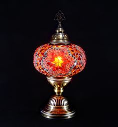 Table mosaic lamp size3   Mosaic Lamp, Floor Lamps,Turkish Lights, Table Lamps