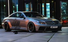 PRIOR-DESIGN PD Black Edition V2 Widebody Aerodynamic-Kit for Mercedes CL [W216] - PRIOR-DESIGN Exclusive Tuning