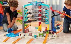 Hot Wheels Ultimate Garage Kid Play Game Set Cars Tracks Parking Gas Station Fun