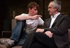 The Goat, or who is Sylvia? Almeida Theatre London 2004. Eddie with Jonathan Pryce.