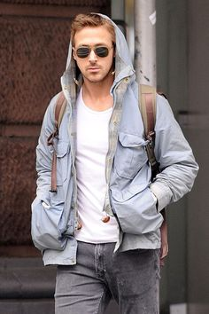 I wonder if Ryan Gosling is this cool, or he's just really good at acting like it in every photo.