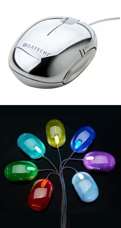 The $25 Satechi Spectrum Mouse may not outshine other PC rodents in terms of features, but it sure does in terms of glitz. In addition to its shiny metallic finish, the Spectrum Mouse has a backlight which cycles through seven colors (white, red, green, blue, yellow, violet and turquoise) or can be set to stay at just one. The Mac- and Windows-compatible wired mouse has a resolution of 1,000 dpi, which makes for accurate cursor placement. #PaperPCHolidayPicks
