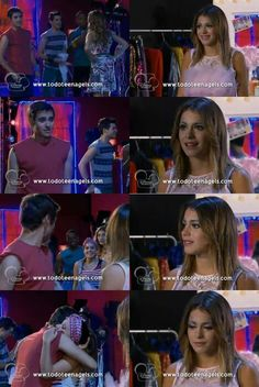 I think at times that León illusioned a lot in his relationship with Lara. Because he knew he wasn't loving Lara for who she was, but only for the possibility that their relationship could become the way his was with Violetta. and that was fated to end badly. But at the times when he saw through his own illusions and the walls that Lara had built, they still had some pretty good times. And a pretty optimistic breakup scene.