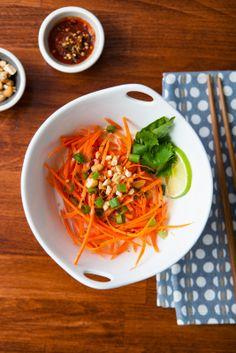 Coconut Carrot Noodles /