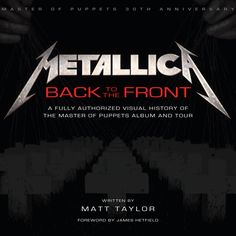 Master of Puppets Book... FINALLY!