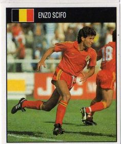 The Maradona of the lowlands  Enzo Scifo. David McCormack 5142b2ff6
