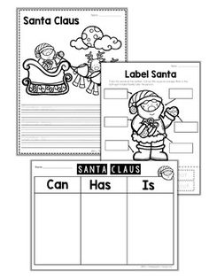 Free Santa Activities for Christmas