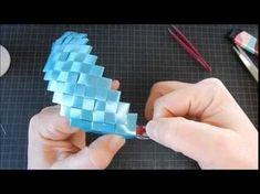 Lille taske pung lavet af gavebånd - YouTube