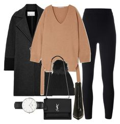 """""""Untitled #5189"""" by olivia-mr ❤ liked on Polyvore featuring T By Alexander Wang, Yeezy by Kanye West, STELLA McCARTNEY, Topshop, Forever 21, Yves Saint Laurent and Daniel Wellington"""