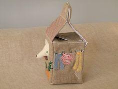 Sweet little house and creature by Mathilde Beldroega