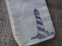 Favor Bags  SET OF 10 Coastal Beach by dazzlingexpressions on Etsy, $10.00