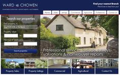 New website for Devon-based estate agents, Ward & Chowen