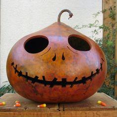 Halloween Gourd JackOLantern XXX Large inspired by pinchmeboutique