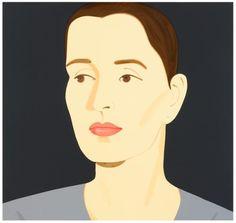 "Alex Katz - ""Vivien (Bittencourt)"" | myartmap"